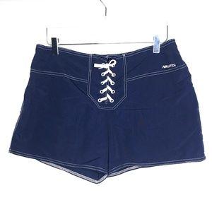 Nautica Swim - Nautica Blue Swim Board Shorts A090543